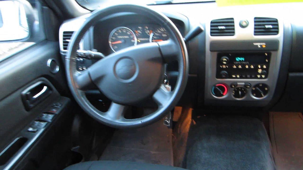 2008 Chevrolet Colorado Pewter Stock 13995c Interior Youtube