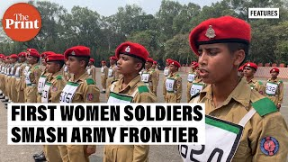 Want to be worthy of the uniform we wear say first batch of Army women soldiers