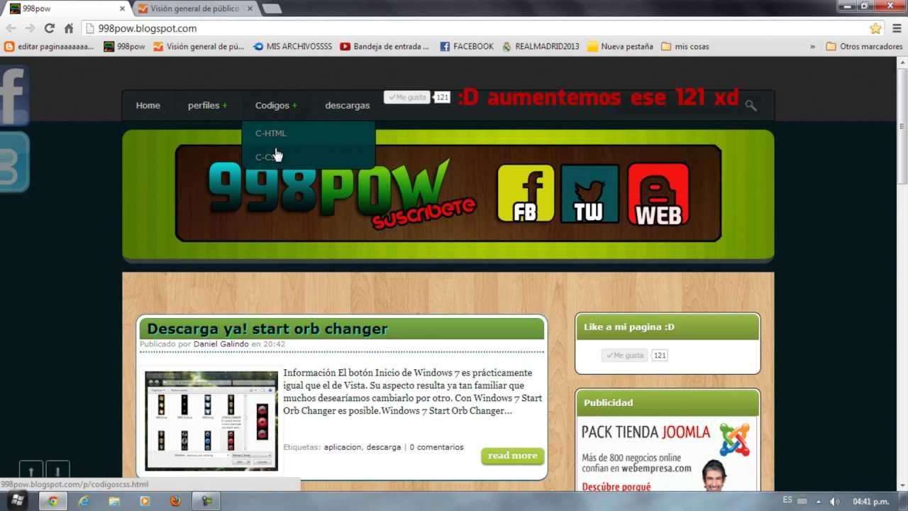 Plantillas y codigos html y css, css3... ¡Para tu web! - YouTube