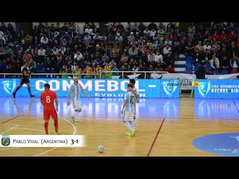 Pasión Futsal TV: Argentina 6-Chile 1 (Liga Sudamericana-Mayor-Fecha 4)