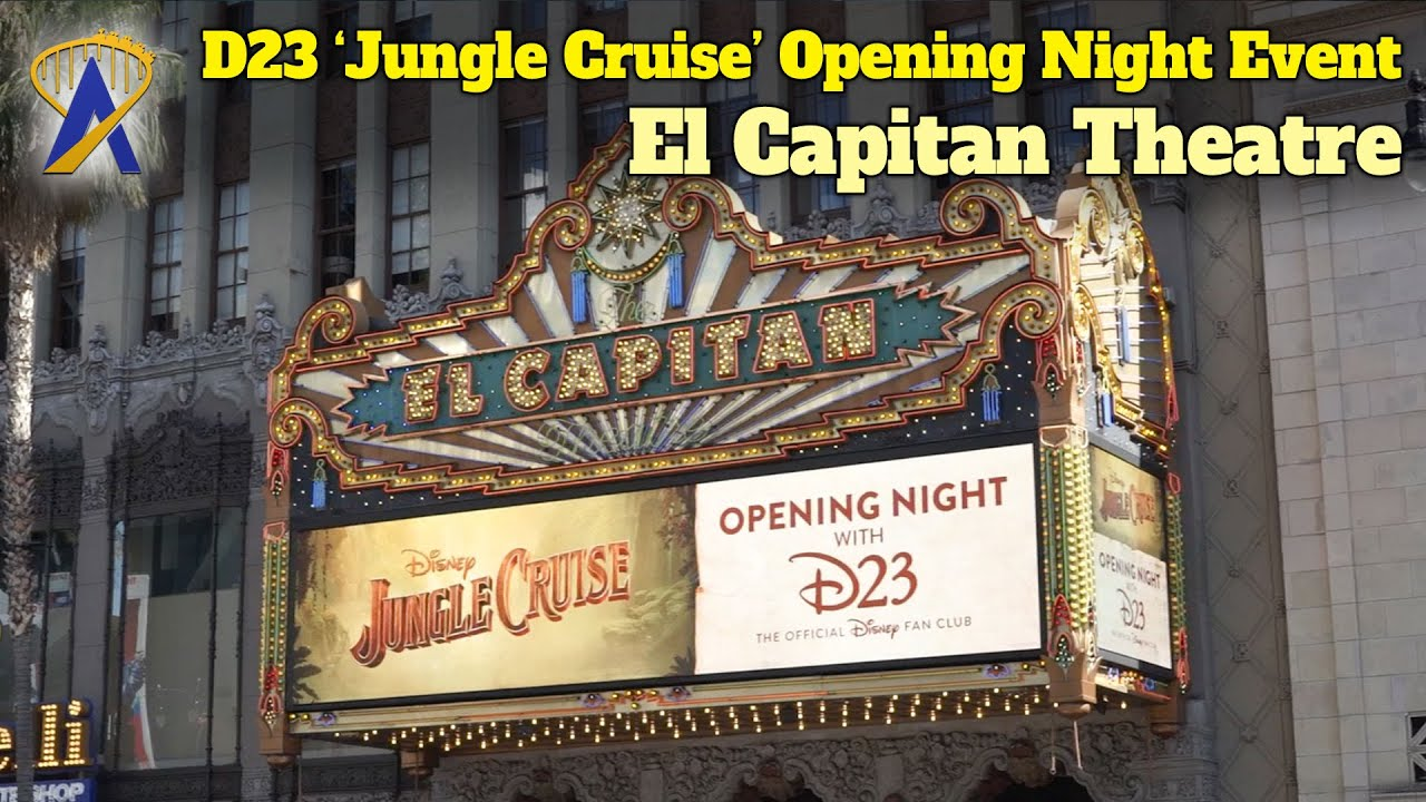 D23 'Jungle Cruise' Opening Night Event at the El Capitan Theatre