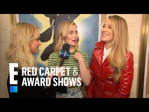 Emily Blunt & Blake Lively Spill Valentine's Day Plans  E! Live from the Red Carpet