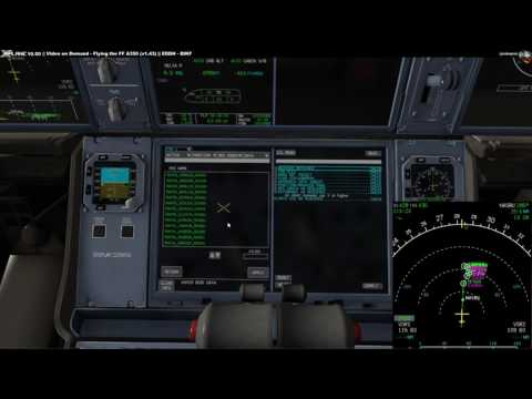Video on Demand: Flying the FF A350 1.44 on XP 10.50 - Part 3 Approach and Landing [English]