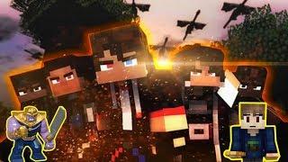 ANICRAFT VS THANOS FULL FIGHT ( ANIMASI SEDIH DAN EPIC ) - Minecraft Animation