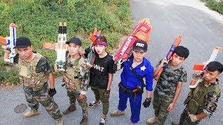 LTT Nerf War : SEAL X Warriors Nerf Guns Fight Attack Criminal Group Mission Revenge