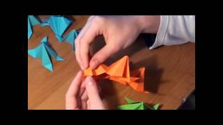 Оригами. Кусудама шар (видео) http://nashydetky.com
