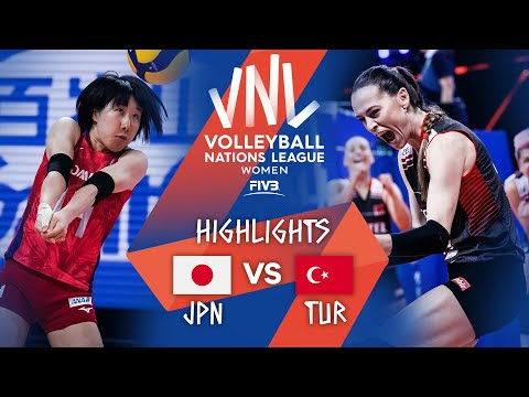 Japan vs. Turkey - Highlights Bronze | Women's VNL 2021