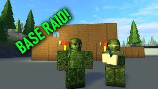 INSANE BASE RAID & LOOT! - ROBLOX: Dead Mist 2