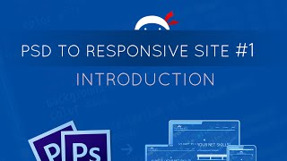 PSD to Responsive Website Tutorial