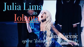 Julia Lima as Iolanta in Tchaikovsky's opera Iolanta (Final scene)