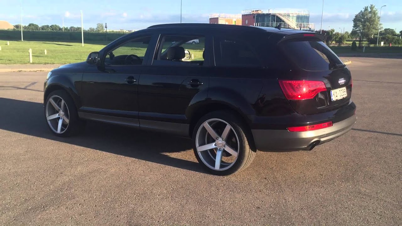 Audi Q7 2012 year Vossen wheels - YouTube