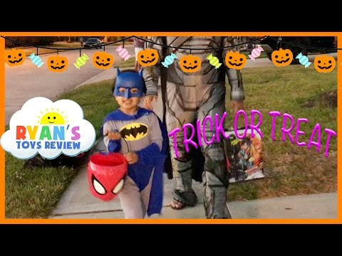 Thumbnail: Kid Halloween Trick or Treat Candy Haul Prank on Ryan I told my Kid I ate all their Halloween Candy