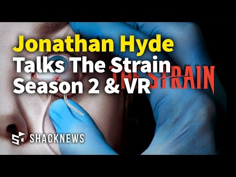 Jonathan Hyde Talks The Strain Season 2 & VR