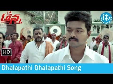 Dhalapathi Dhalapathi Song - Anna (Thalaivaa) Movie Songs - Vijay - Amala Paul