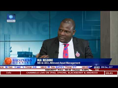 Discussing How Nigeria ETF Fared In 2017 Pt.1 |Business Morning|