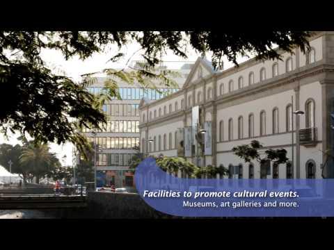 Santa Cruz de Tenerife, City of Meeting and Events - English
