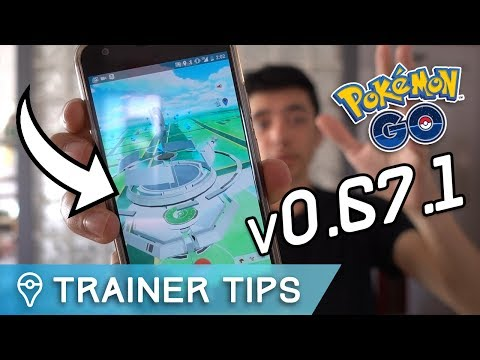POKÉMON GO UPDATE v0.67.1 IS HERE!! NEW GYMS, APK MINE, + MORE!