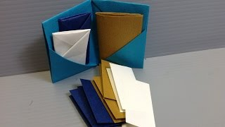 Formal Colors Origami Folder, Book, Stationery