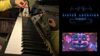 Five Nights At Freddy s 5 Sister Location Trailer Song Piano Cover by Amosdoll