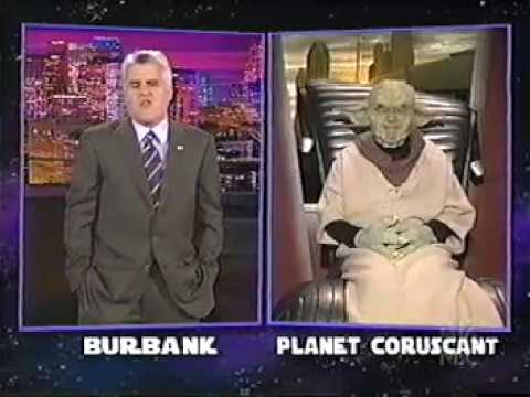 Gilbert Gottfried as Yoda on Tonight  with Jay Leno, May 2005