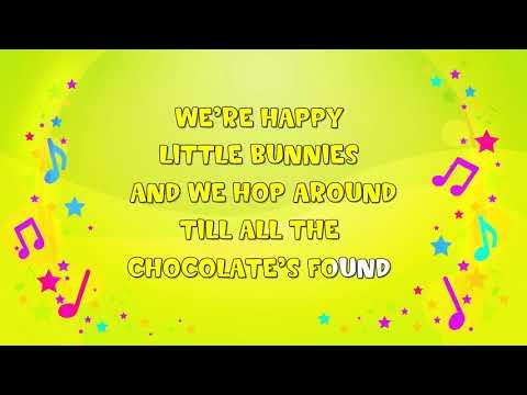 Happy Easter Bunny | Karaoke | Nursery Rhyme | KiddieOK