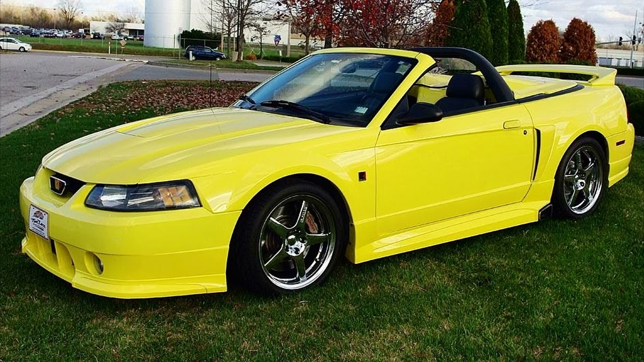 Supercharged 2001 roush stage 3 mustang convertible