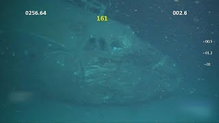 Найден самолет, затонувший 65 лет назад