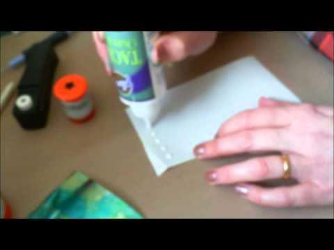 how to make faux rhinestone, gems.