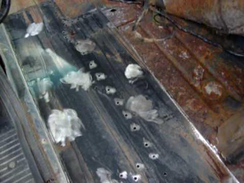 Cherokee Repairs Fabricated Floor Pan Youtube