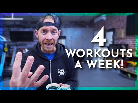 Beginner TRIATHLON TRAINING PLAN with just 4 WORKOUTS a week