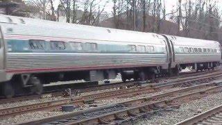 Amtrak Pennsylvanian train 43 Overbrook Jan 10 2016