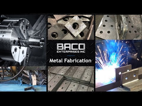 Metal Fabrication From Baco Enterprises Inc.