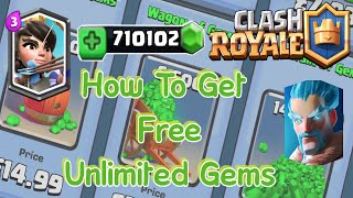 "How To Get FREE Gems FAST In Clash Royale ""No Hacks"" (June 2017) - HUGE GIVEAWAY?"