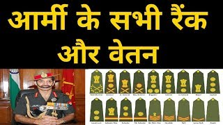 Indian Army Ranks | Indian Army Salary