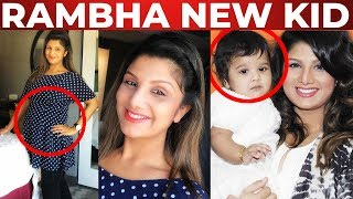 WOW: Rambha blessed with 3rd Child