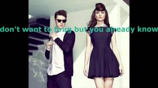 I Told You So by Karmin (the real Karaoke!)