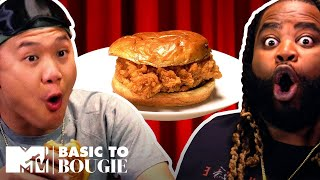Fried Chicken Sandwiches? Yes Please! | Basic to Bougie: Season 4 | MTV