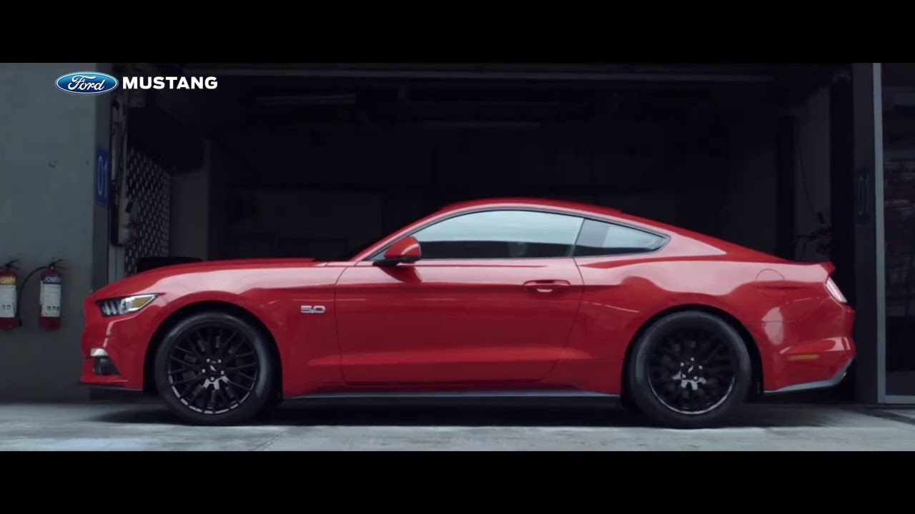 Ford Mustang Gt 2017 Commercial Korea