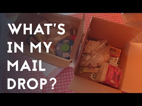 WHAT'S IN MY MAIL DROP // HIKING ESTONIA