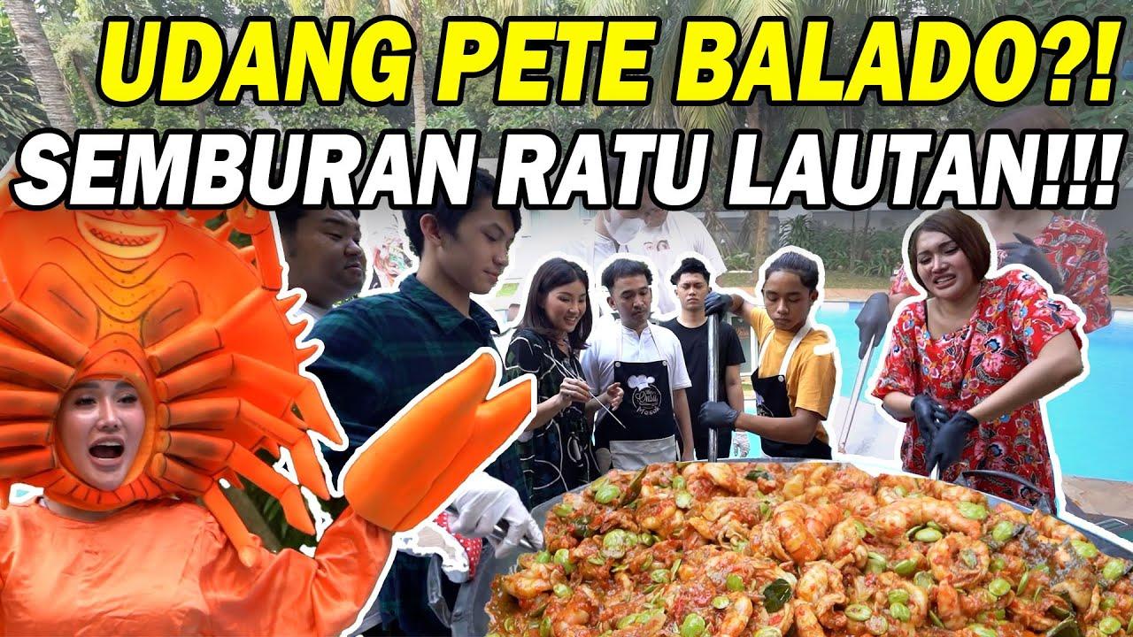 The Onsu Masak - Udang Pete Balado Merah Merona dari Ratu Lautan?! MENGGODA!!!