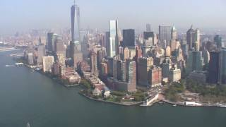 helicopter tour flight nyc ground zero statue of liberty brooklyn bridge manhattan freedom tower