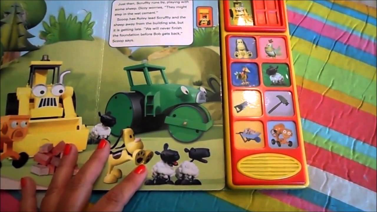 Bob The Builder Scoops Big Day Electronic Book Review