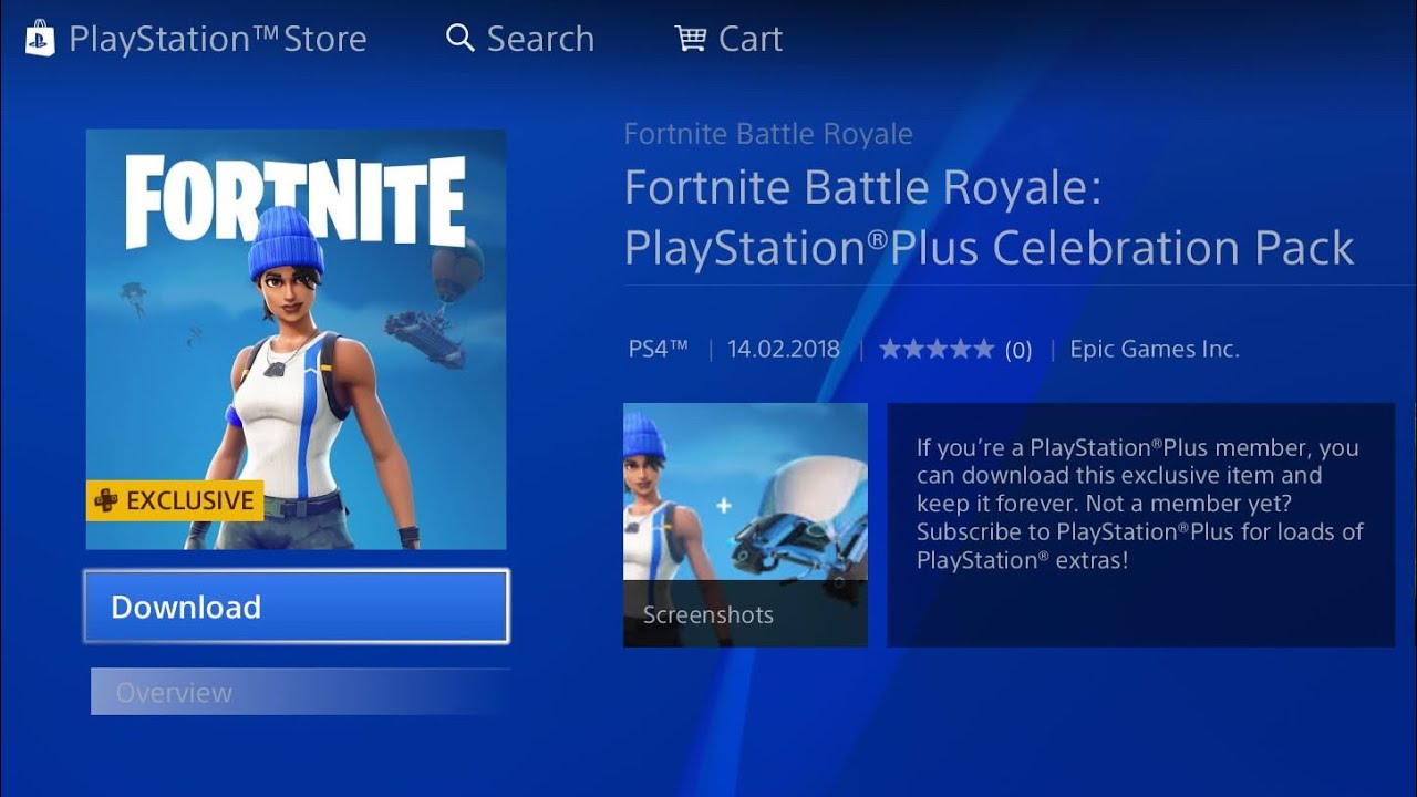 How To Get Free Ps Plus Fortnite Skin