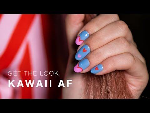 DIY Nail Art Tutorial: Kawaii AF | OPI Tokyo thumbnail