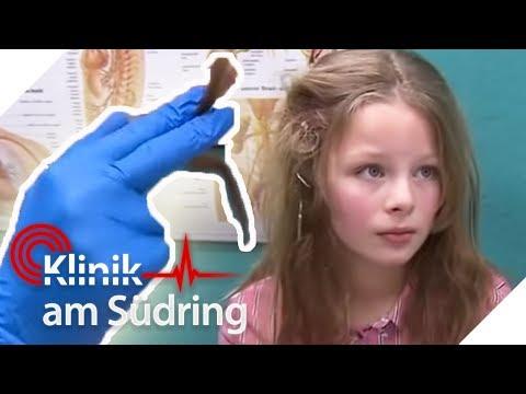 Ihre langen Haare müssen abgeschnitten werden! Mila (10) hat XXL-Knoten | Klinik am Südring | SAT.1