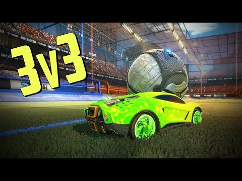 ONLY THE ROOF IS THE LIMIT! | 3v3 Ranked Destruction | Rocket League Gameplay