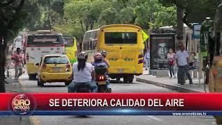 AUMENTA LA TENDENCIA DEL DETERIORO DE LA CALIDAD DEL AIRE - ORONOTICIAS.TV