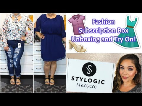 Stylogic Fashion Subscription Box   Unboxing And Try On!