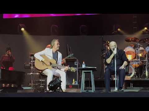 """Phil Collins + Mike Rutherford, Berlin 2019, """"Follow you Follow me"""""""