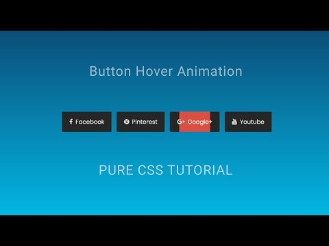 CSS button hover animation | Creative button hover Animation Effects